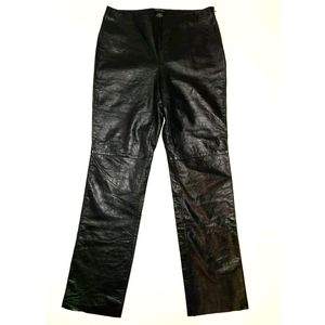 NEW! Kenneth Cole NY Leather Pants